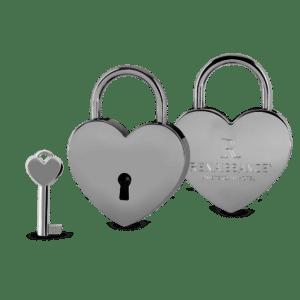Liefdesslot met logo